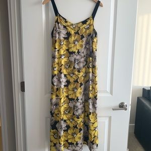 Who What Wear Midi Floral Dress